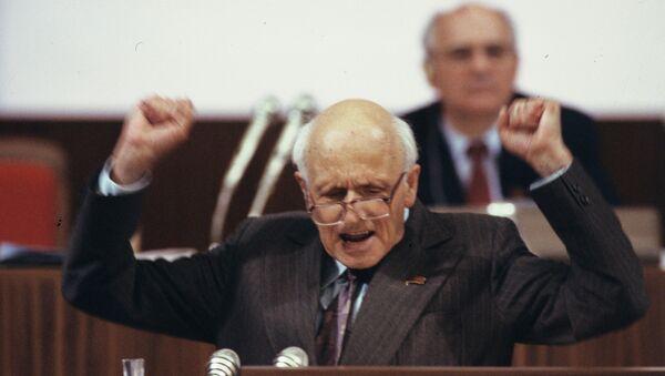 Академик Андрей Дмитриевич Сахаров. Архивное фото