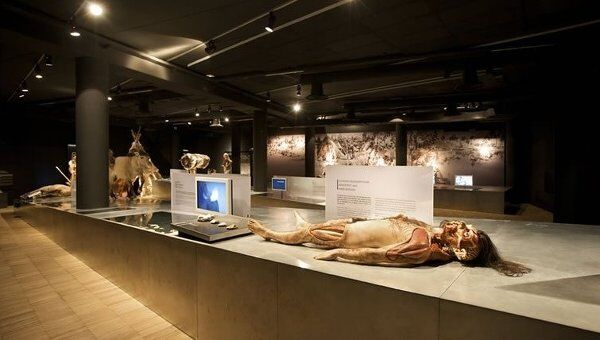 Экспозиция Галло-римского музея в Бельгии