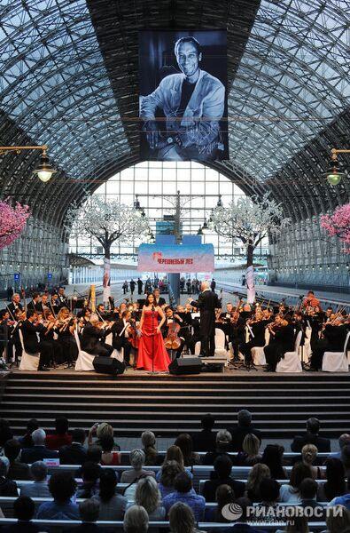 Концерт Владимира Спивакова на Киевском вокзале