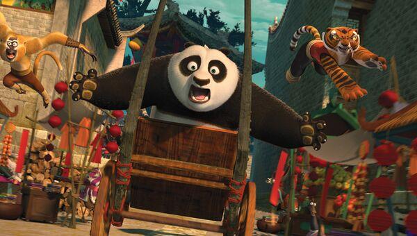 Кадр из фильма Кунг-фу Панда 2. Архивное фото