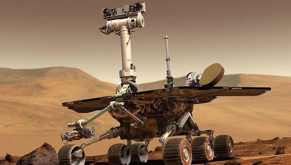 Марсоход Spirit / Opportunity (компьютерная графика)