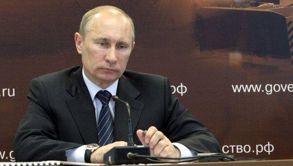 Владимир Путин проводит совещание по вопросу О повышении эффективности строительства и эксплуатации автомобильных дорог в РФ.