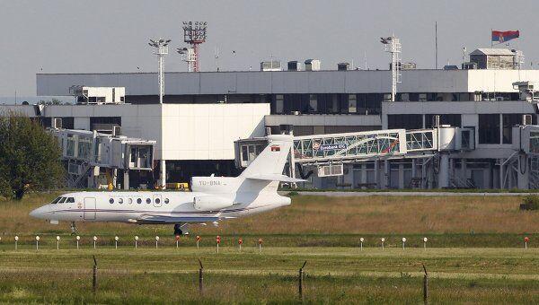 Самолет, на котором доставили Младича в Нидерланды
