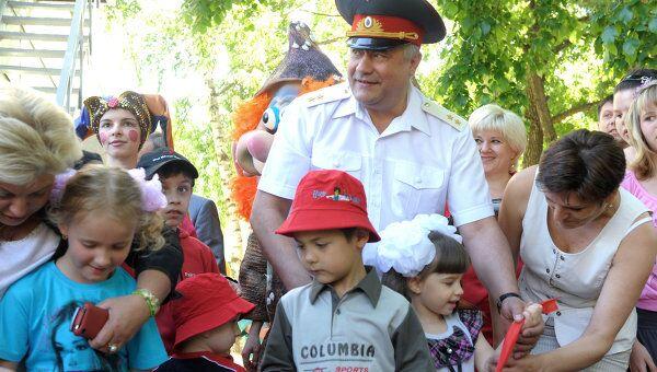 Владимир Колокольцев посетил социальный приют для детей и подростков в Южном административном округе Москвы