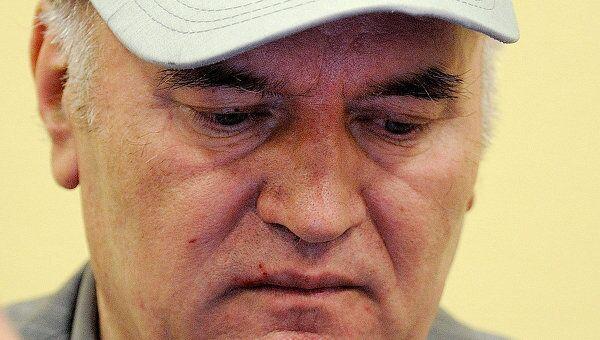 Ратко Младич в здании суда МТБЮ