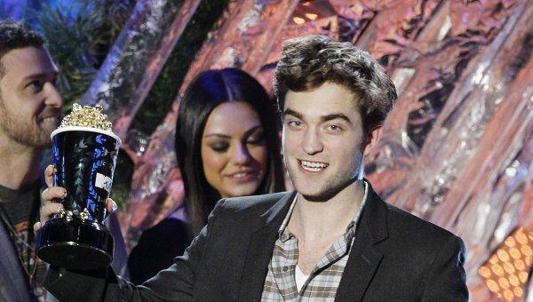 Роберт Пэттинсон признан зрителями MTV лучшим актером года