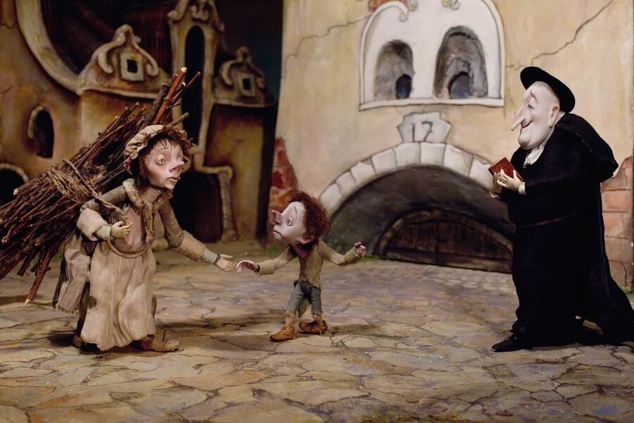 Куклы-персонажи из мультфильма Гофманиада