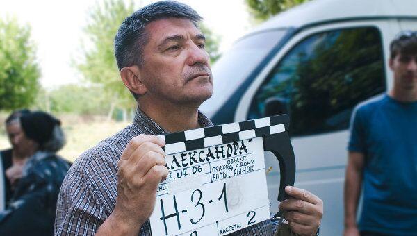 Съемки фильма Александра