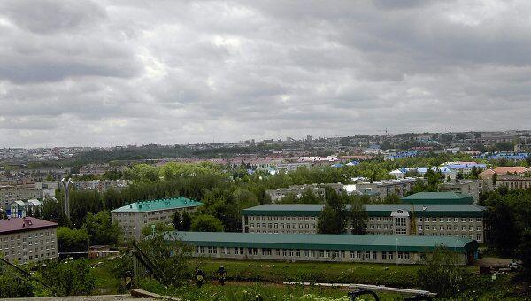Лениногорск с высоты птичьего полета