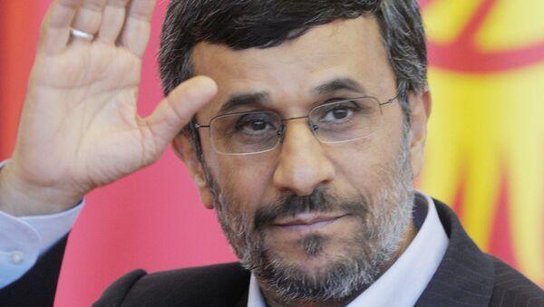 Президент Ирана Махмуд Ахмадинежад. Архив