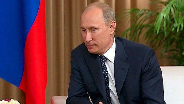 Путин рассказал главе МОК, что уже сделано к Олимпиаде-2014 в Сочи