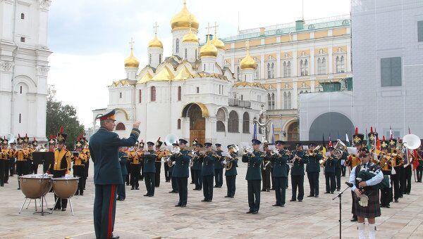 Презентация военно-музыкального фестиваля Спасская Башня прошла в Москве