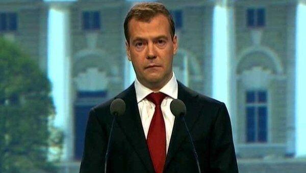 Медведев на открытии ПМЭФ сказал, какая модель экономики нужна России