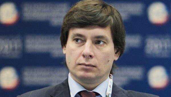 Заместитель министра экономического развития Российской Федерации Андрей Слепнев