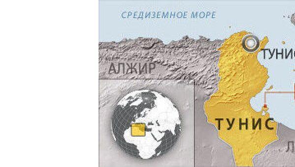 Тунис. Карта