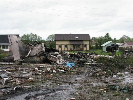 Авария Ту-134 в Карелии