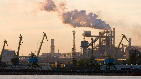Портовая зона ОАО Северсталь