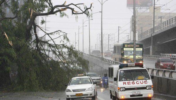 Последствия прохождения тропической бури Фалькон (Меари) на Филиппинах