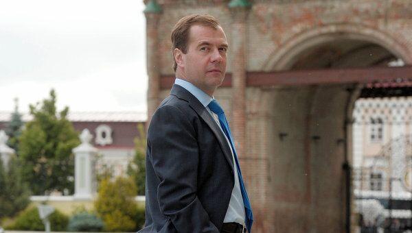 Д.Медведев в Казани