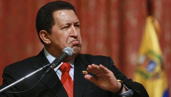 Уго Чавес. Архивное фото