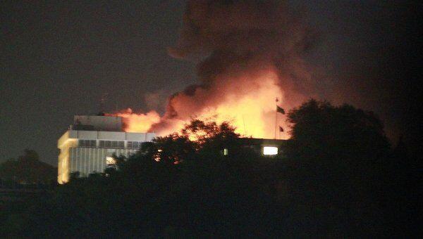 Нападение на отель Intercontinental в Кабуле