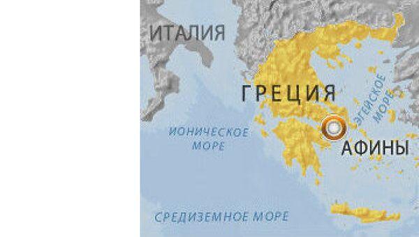 Пропалестинские активисты протестовали в испанском посольстве в Афинах