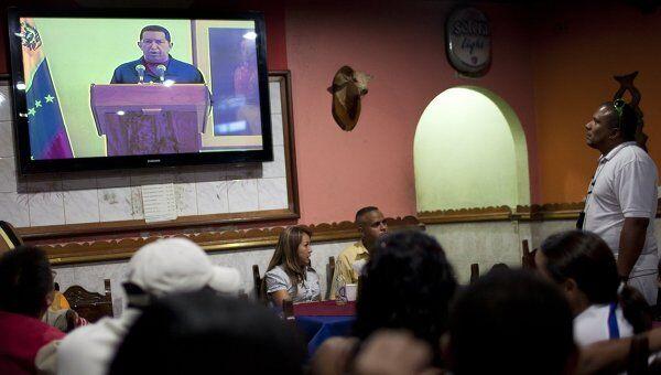Уго Чавес выступил с телеобращением к гражданам Венесуэлы