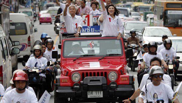 Выборы в парламент Таиланда. Йинглак Чинават - первая женщина-кандидат на пост премьера