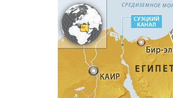 Взрыв на крупном газопроводе в провинции на северо-востоке Египта
