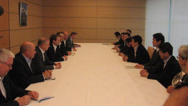 Рабочий визит С.Е. Нарышкина в Японию