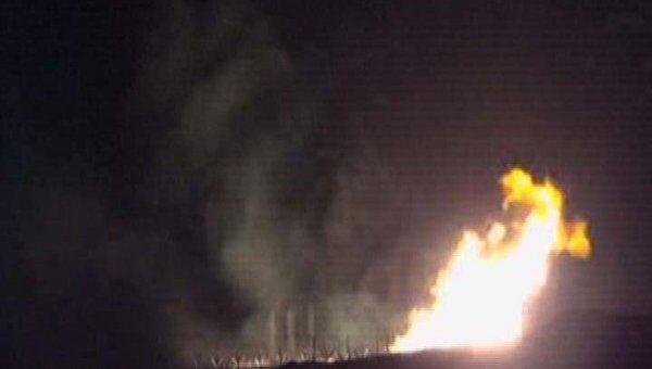 Пламя после взрыва на газопроводе в Египте полыхало больше семи часов