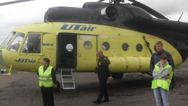 Авария вертолета авиакомпании ЮТэйр в Иркутской области