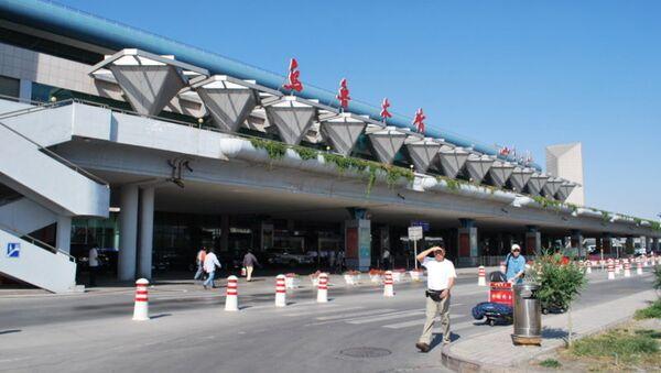Международный аэропорт Урумчи в Китае. Архивное фото