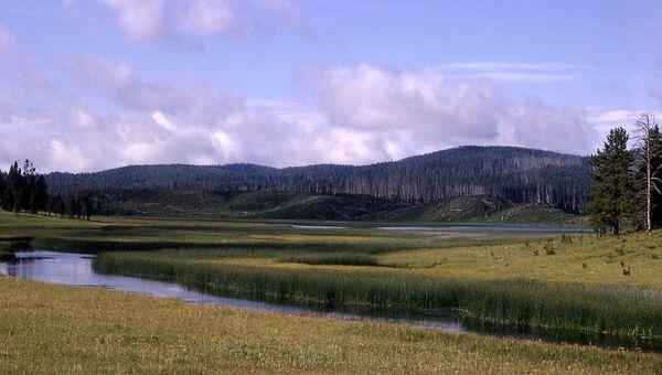 Йеллоустонский национальный парк в США