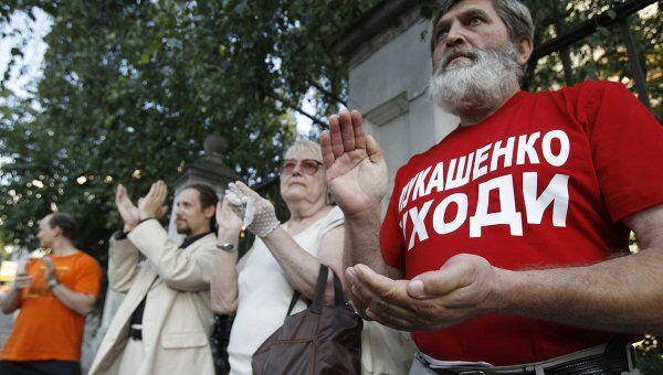 Более 400 человек задержаны в Белоруссии во время акции протеста. Архивное фото