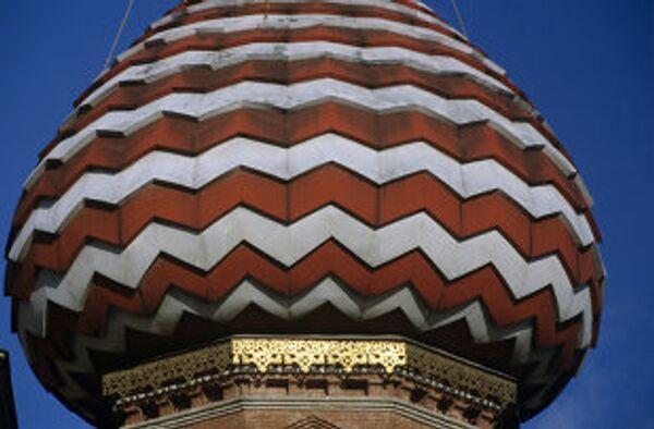 Купол собора Василия Блаженного. Архив