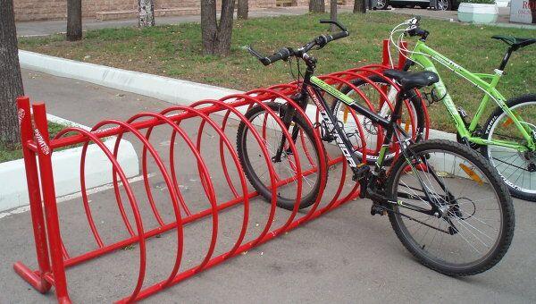 велопарковки Москвы