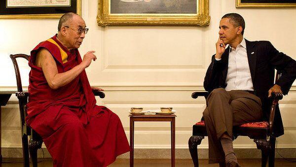 Встреча Барака Обамы и Далай-ламы