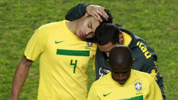 Сборная Бразилии проиграла команде Парагвая в четвертьфинале кубка Америки