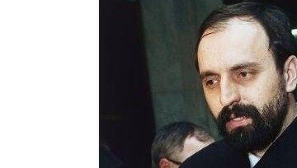 Бывший президент самопровозглашенной Республики Сербская Краина (на территории Хорватии) Горан Хаджич
