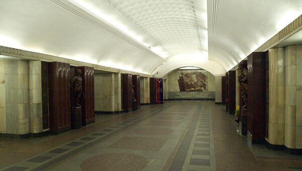 Станция Бауманская Московского метрополитена
