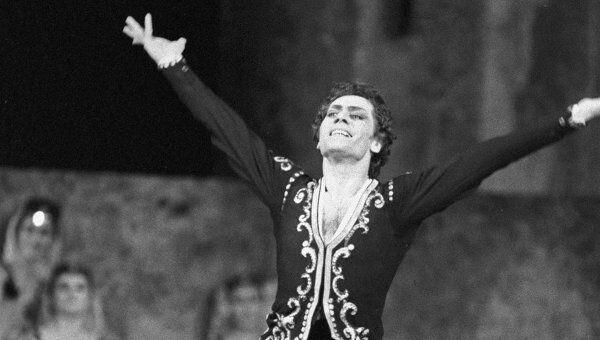 В.Тедеев в роли Армена. Сюита из балета Гаянэ на музыку А.Хачатуряна