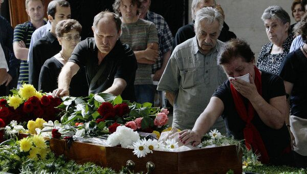 Прощание с композитором Кареном Хачатуряном