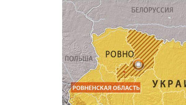 ДТП в Ровенской области на западе Украины