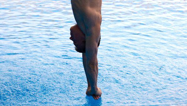 Прыжки в воду, архивное фото