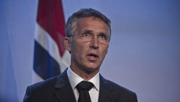 Премьер-министр Норвегии Йенс Столтенберг