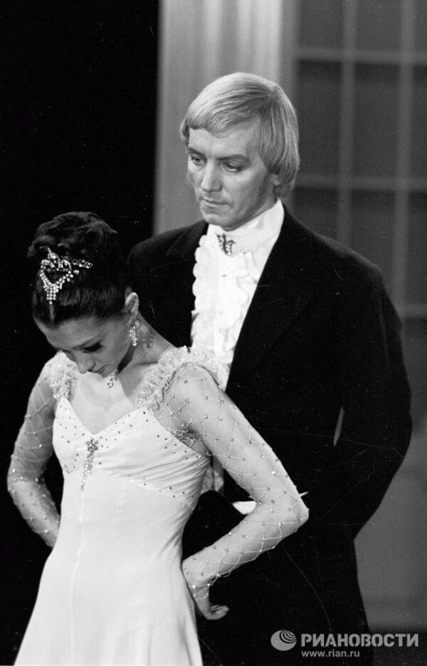 На съемках фильма-балета «Галатея»