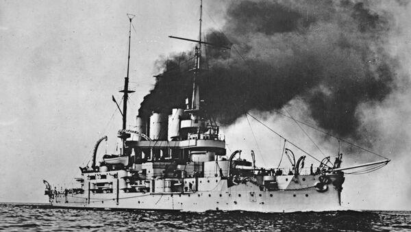Эскадренный броненосец «Князь Потёмкин-Таврический». Архивное фото