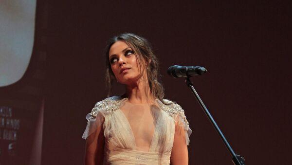 Актриса Мила Кунис, архивное фото