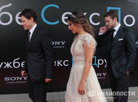 Премьера фильма Секс по дружбе в Москве